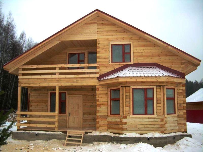 Строительство дома своими руками под ключ из бруса 64