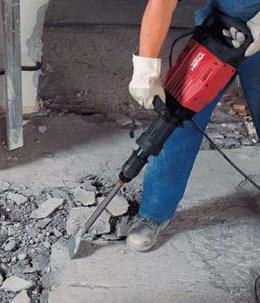 Odstranitev betonske podlage