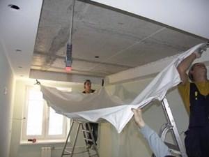 toile plafond fissure artisan pour travaux aube soci t vduz. Black Bedroom Furniture Sets. Home Design Ideas